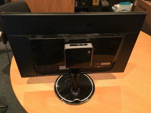 Intel NUC - Rear VESA Monitor Mount