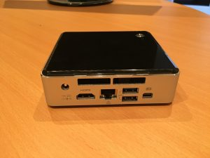 Intel NUC - Rear