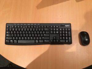 Logitech Wireless Desktop Keyboard & Mouse