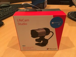 Microsoft LifeCam Studio *optional*